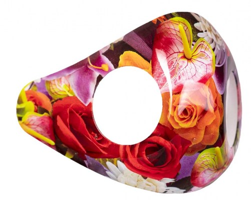 AIR2GO Design Shield Colorful Flowers